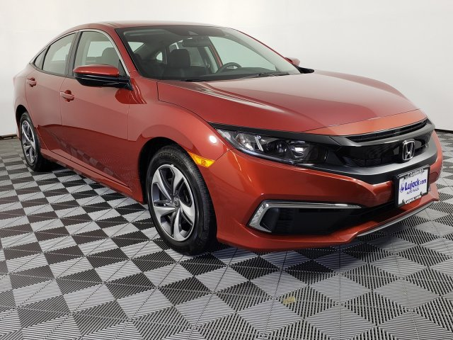 New 2019 Honda Civic Sedan LX FWD