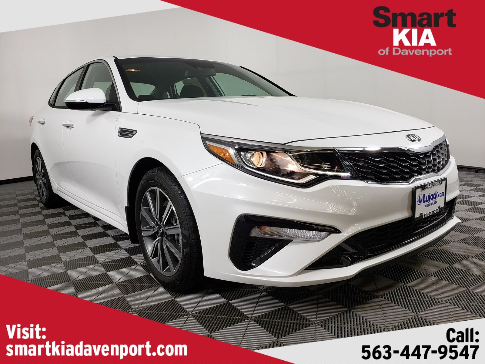 New 2019 Kia Optima LX FWD 4dr Car