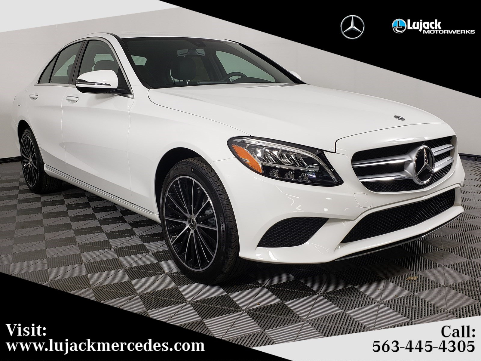 New 2019 Mercedes-Benz C 300 4MATIC®